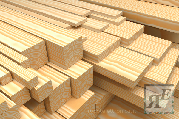 Listelli in legno di abete semilavorati x - Catalogo semilavorati